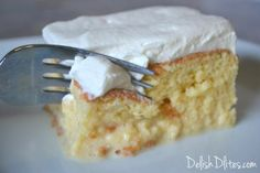 So, I'm not a cake person. Actually, I'm quite an anti-cake person. Tres Leches cake happens to be the only cake I can't say no to, because it's delish!