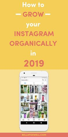Discover how to grow your Instagram account organically in 2019. It is still possible! These 10 Instagram tips are ones I use every single day to keep growing an engaged audience of 60k+ followers. You can use them too! #instagramtips #instagrammarketing #instagraminspiration Facebook Marketing, Social Media Marketing, More Instagram Followers, Instagram Marketing Tips, How To Get Followers, Instagram Design, Social Media Tips, Seo, Business Entrepreneur