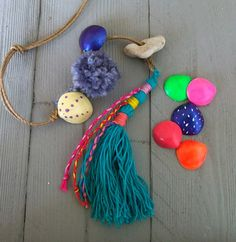 Decorative Tassel For Bag Tassel Swag Pompom Boho Decor