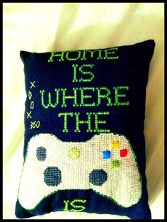 Xbox video game pillow. This is awesome