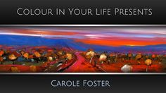 How to Paint Landscapes in Acrylics with Carole Foster | Colour In Your ...