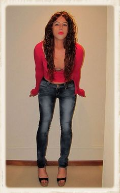 Redhead In Jeans