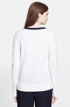 A.L.C. 'Calvin' Two-Tone Sweater | Nordstrom