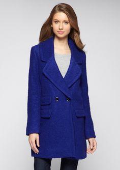 KENNETH COLE Double-Breasted Coat @ideeli