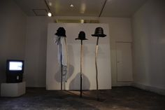 "Past Gallery kräfte_021 . Gallery kräfte + Bar ""HORISAKI HAT POLE EXHIBITION - (Product exhibition)"" . #interiordesign #productdesign #fashion #product #exhibition #gallery #bar #osaka #nakatsu #sweden #collaboration with #horisaki #大阪 #中津 #インテリアデザイン事務所 #クレフテ #krafte"