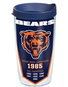 Chicago Bears - Dynasty Wrap with Lid | 16oz Tumbler | Tervis®
