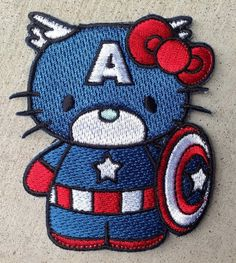 Captain America Hello Kitty