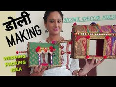 Wedding Present Ideas, Wedding Gift Wrapping, Wedding Crafts, Diy Wedding, Best Friend Wedding Gifts, Handmade Decorative Items, Indian Wedding Gifts, Indian Wedding Invitation Cards, Trousseau Packing