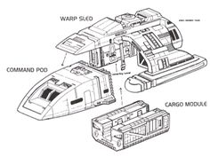 Modular design of the Danube-class runabout