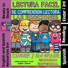 Easy reading for reading comprehension in spanish february set
