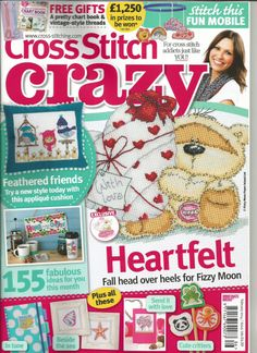 Cross Stitch Crazy UK Magazine Issue 53 Christmas 2003 Kit for sale online Cross Stitch Tree, Cross Stitch Books, Just Cross Stitch, Cross Stitch Cards, Cross Stitching, Cross Stitch Embroidery, Cross Stitch Sampler Patterns, Vintage Cross Stitches, Cross Stitch Designs