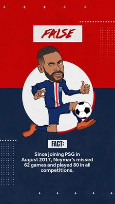 False Facts, Neymar Jr, Psg, Competition, Movies, Movie Posters, Films, Film Poster, Cinema