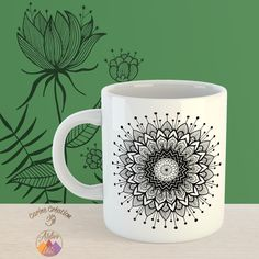 Mug classique - blanc - dessin Etoile Galactic - 8€