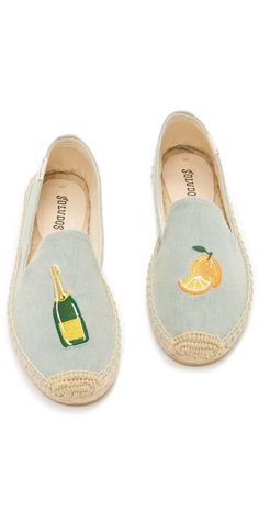 9e2cb5c056ba Soludos Mimosa Embroidered Smoking Slipper Espadrilles