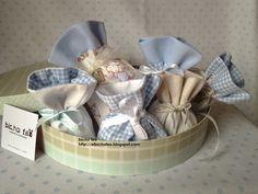 Sacchetti per confetti - bomboniere http://elbichofeo.blogspot.com