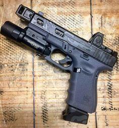 Airsoft Guns, Weapons Guns, Custom Glock, Jay Rock, Green Beret, Chula, Stippling, Concealed Carry, Pistols