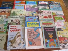lot 30 Scolastic children books booklets reading illustrated