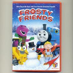 Frosty Friends New Christmas DVD Thomas Train Barney Bob Builder Pingu Kipper