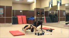 SPARTACUS WORKOUT FOR WOMEN, via YouTube.