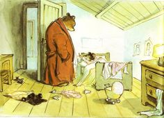 """""""Ernest and Celestine"""" by Gabrielle Vincent, 1986 Children's Book Illustration, Illustrations, Ernest Et Celestine, Chester Cat, Witch Cat, Halloween Books, Children's Literature, Beautiful Paintings, Painting & Drawing"""