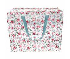 "GreenGate Große Tasche ""Storage bag Meryl white"" L"