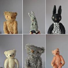 Bears & bunnies by Jennifer Murphy