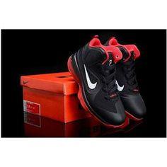 http://www.asneakers4u.com/ Nike Lebron 9 Kids Shoes Black/Red