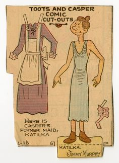 78.2397: Katilka | paper doll | Paper Dolls | Dolls | National Museum of Play Online Collections | The Strong
