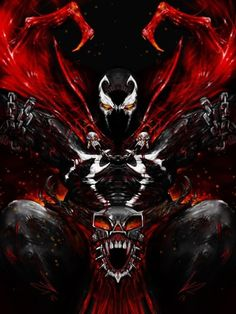 'Demon' (limited prints still available) Comic Villains, Comic Book Characters, Comic Books Art, Comic Art, Image Comics, Geeks, Spawn Comics, Badass Drawings, Service Secret
