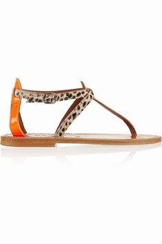 Las #sandalias planas más chic del #verano                                                                                                                                                      Más