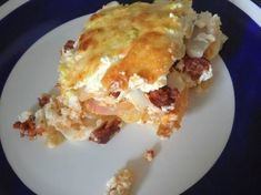 Lasagna, Bacon, Ethnic Recipes, Food, Essen, Meals, Yemek, Pork Belly, Lasagne