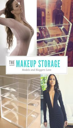 Celebrities Love Our Makeup Storage! Makeup Storage, Makeup Organization, Saris, Beauty Advice, Beauty Hacks, Burberry, Prada, Makeup For Moms, La Perla