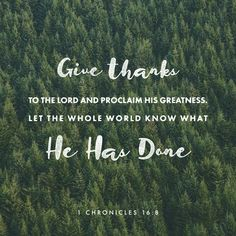 Look at the many blessings that God has given you. Proclaim those blessings to the world. Thank God daily for all Heights has and will do for you.