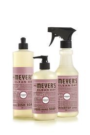 Rosemary Kitchen cleaners  Mrs. Meyers Clean Day