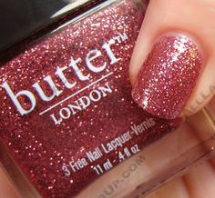 butter LONDON Rosie Lee Fall-Winter 09 Swatches & Review | All Lacquered Up : All Lacquered Up