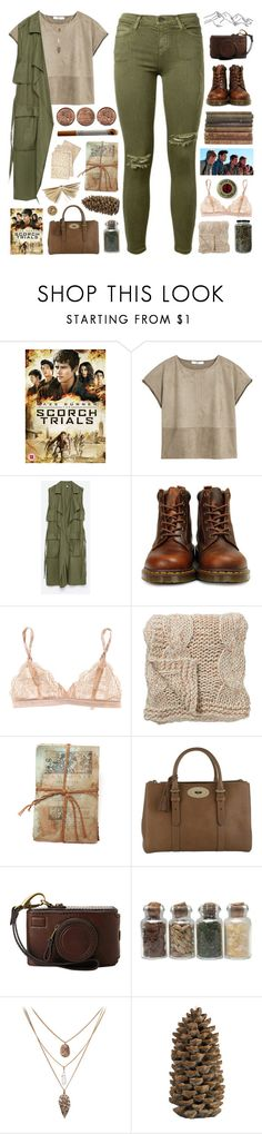"""""""The Scorch Trials // Day 65/100"""" by rockgirlfriend15 ❤ liked on Polyvore featuring Current/Elliott, Paul Brodie, MANGO, Zara, Dr. Martens, STELLA McCARTNEY, Bloomingville, GO Home Ltd., Mulberry and Cultura"""