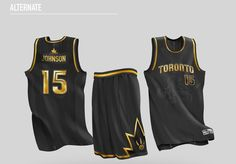 Designer Artur Wrona created these Toronto Raptors concept uniforms that blends elements of the team's visual history into a modern, new look. Nba Uniforms, Sports Uniforms, Basketball Uniforms, Basketball Jersey Outfit, Basketball Kit, Basketball Design, Best Nba Jerseys, Baskets, Nba Fashion