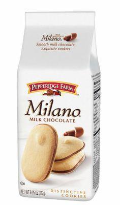 Pepperidge Farm Milk Chocolate Milano Cookies, 6.25 Ounce - http://bestchocolateshop.com/pepperidge-farm-milk-chocolate-milano-cookies-6-25-ounce/