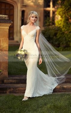 Cheap dresses movie, Buy Quality dress lion directly from China dress korean Suppliers: Vestido De Noiva Sereia Vintage Sexy Mermaid Wedding Dresses 2015 Elegant Civil Boho Lace Backless Wedding Dresses Brida