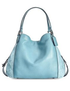 2816b66d95a0 Coach Edie Shoulder Bag 42 In Mixed Leathers