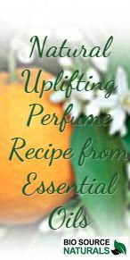 DIY all natural perfume recipe to uplift your mood. Made from pure essential oils. #DIY #naturalperfume #essentialoils