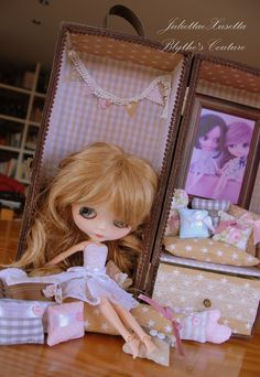 Blythe's carrier... customized by JuliettaeXussetta