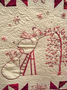 River City Quilt Guild - Day 4 ('Tis the Season!)...how cute is this?