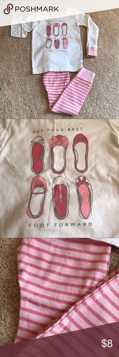 Old Navy Put Your Best Foot Forward Shoes PJs SZ5T Old Navy Put Your Best Foot Forward Shoes PJs SZ 5T. Old Navy Pajamas Pajama Sets