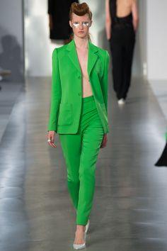 La tendance vert mode printemps-été 2016