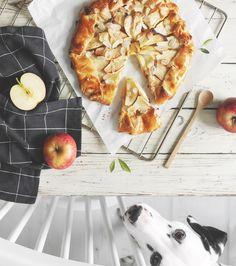 Tarte aux pommes rustique – Le chien à taches