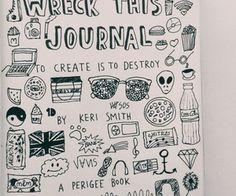 wreck this journal | Tumblr