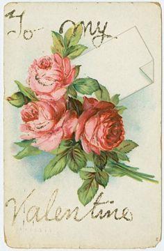 День Святого Валентина. Открытки Vintage.: ♥ Creative NN. Блог Альбины Рассеиной. ♥