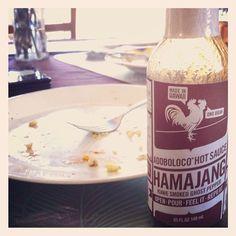 Just got my breakfast HAMAJANG on! Mahalo @adoboloco        #braddahtimmy #hamajang #breakfast #hotsauce #adoboloco #rightnow #bacak #madeinhawaii #onobrah #kiawesmoked #foodie #foodgasm #onotodamax #mahalo