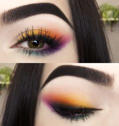Cute colored eye makeup looking for green eyes - Cute colored eye makeup ., Nice colored eye make-up look for green eyes - Nice colored eye make-up look for green eyes - make up make up Makeup Looks For Green Eyes, Makeup Eye Looks, Beautiful Eye Makeup, Cute Makeup, Green Makeup, Amazing Makeup, Eyeshadow For Green Eyes, Flawless Makeup, Perfect Makeup